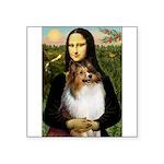 Mona's Sable Sheltie Square Sticker 3