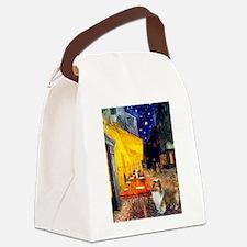 Cafe / Sheltie Canvas Lunch Bag