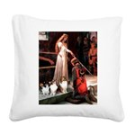 Accolade / 3 Shelties Square Canvas Pillow