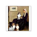 Whistler's / 3 Shelties Square Sticker 3