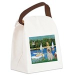 Bassin/Shih Tzu (P) Canvas Lunch Bag