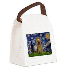 Starry Night / Silky T Canvas Lunch Bag