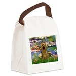 Lilies / Silky T Canvas Lunch Bag