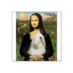 Mona / Tibetan T Square Sticker 3