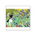 Irises / Toy Fox T Square Sticker 3
