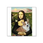 Mona - Corgi (Pembr-L) Square Sticker 3