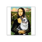 Mona's Corgi (Bl.M) Square Sticker 3