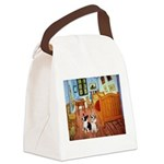 Room / Corgi pair Canvas Lunch Bag