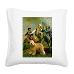 Spirit'76/Wheaten T Square Canvas Pillow