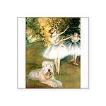 Dancer1/Wheaten T Square Sticker 3