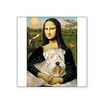 Mona's Wheaten Square Sticker 3