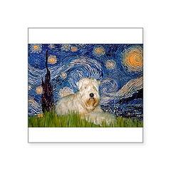 Starry / Wheaten T #1 Square Sticker 3