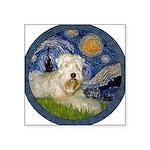 Starry / Wheaten (#1W) Square Sticker 3