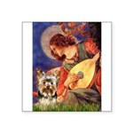 Mandolin Angel / Yorkie (17) Square Sticker 3