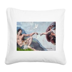 Creation/Yorkshire T Square Canvas Pillow