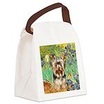 IRISES / Yorkie (17) Canvas Lunch Bag