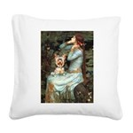 Ophelia's Yorkie (17) Square Canvas Pillow