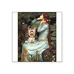 Ophelia's Yorkie (17) Square Sticker 3