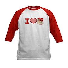 I (heart) love Santa Tee