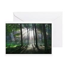 Woodland Sunburst Greeting Cards (Pk of 20)