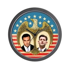 Romney Ryan Wall Clock