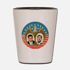 Romney Ryan Shot Glass