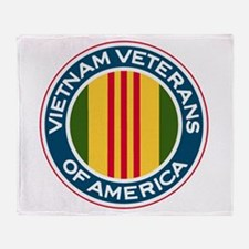 VVA Logo Throw Blanket