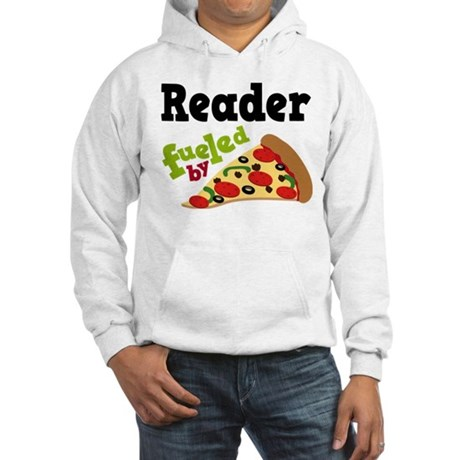 Reader Fueled By Pizza Hooded Sweatshirt