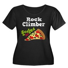 Rock Climber Funny Pizza T