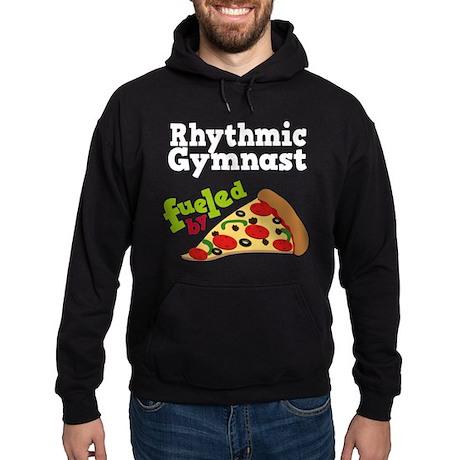 Rhythmic Gymnast Funny Pizza Hoodie (dark)