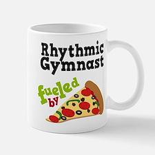 Rhythmic Gymnast Funny Pizza Mug