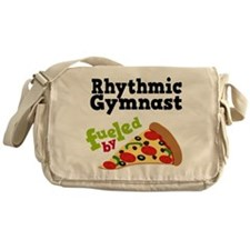 Rhythmic Gymnast Funny Pizza Messenger Bag