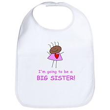 African American Big Sister Bib