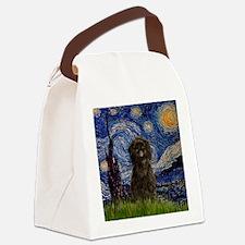 TILE-Starry-Affen3.png Canvas Lunch Bag