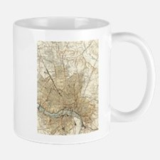 Vintage Map of Richmond Virginia (1934) Mugs