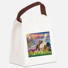 Cloud Angel & Amstaff Canvas Lunch Bag