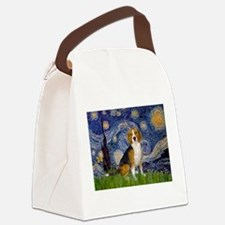 5.5x7.5-Starry-Beagle7.png Canvas Lunch Bag