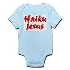 Haiku Jesus Infant Creeper