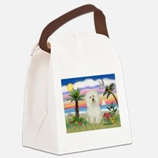 Palms & Bolognese Canvas Lunch Bag