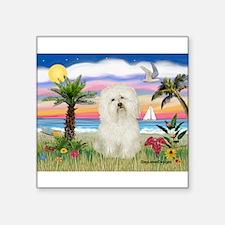 "Palms & Bolognese Square Sticker 3"" x 3"""
