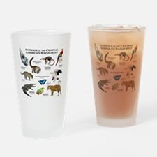 Central American Rainforest Drinking Glass