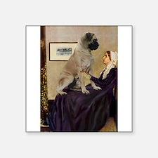 """Mom's Bull Mastiff Square Sticker 3"""" x 3"""""""
