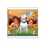 Cherubs / Bull Terrier Square Sticker 3