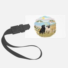Row Boat-TwoPugs (F+B).png Luggage Tag