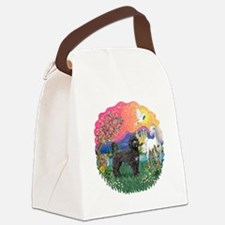 FantasyLand-blackPWD2.png Canvas Lunch Bag
