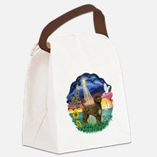 StarWish-brownPWD2C.png Canvas Lunch Bag