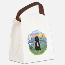 SunriseLilies-PWD5bc.png Canvas Lunch Bag