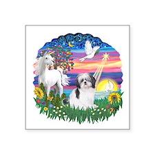 """MagicalNight-ShihTzu1.png Square Sticker 3"""" x 3"""""""