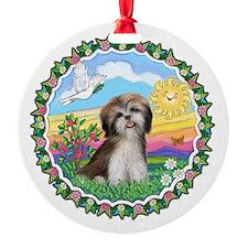 Wreath1-ShihTzu2-brown-white.png Ornament