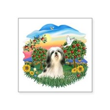 Bright Country - Shih Tzu 3.png Square Sticker 3""